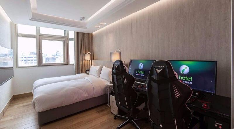 Habitación gamer para parejas