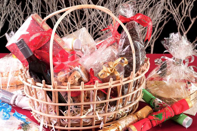 cesta navideña