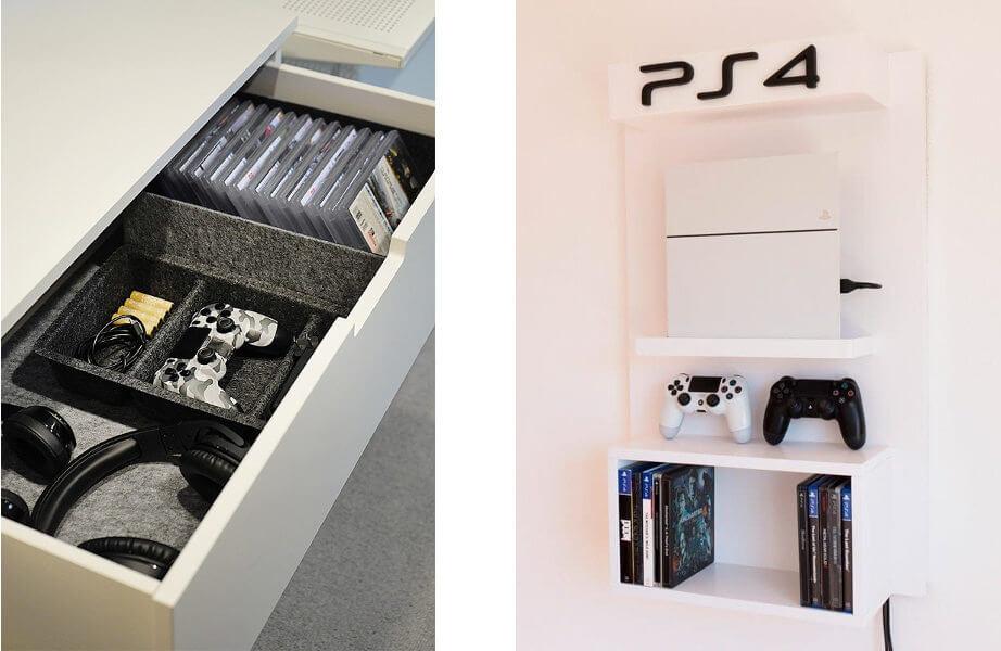 foto organización habitación gaming
